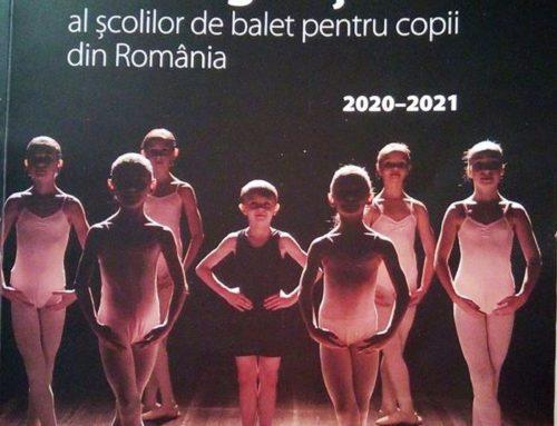 Titovart Pitești în primul catalog national al școlilor de balet
